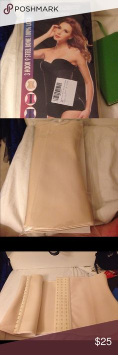 Nude waist trainer Nude waist trainer. Please follow size chart above this is a 3XL lwaist trainers are meant  to fit a pretty snug. Brand new never worn excellent shapers perfect body  Intimates & Sleepwear Shapewear