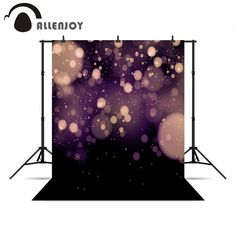 Allenjoy background New Year bokeh stars pastel backdrops purple backdrop photography for a photo shoot for photo studio
