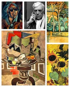 """""""Born on May 13, 1882 in Argenteuil-sur-Seine, France, Georges Braque was a major painter, collagist, draughtsman, printmaker and sculptor of the 20th century. Along with Pablo Picasso, Braque was a key figure in the development of Cubism."""" (dailyartfixx.com)"""