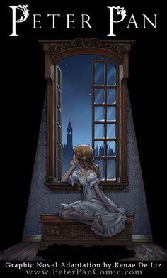 Peter Pan: The Graphic Novel by RenaeDeLiz.deviantart.com on @deviantART
