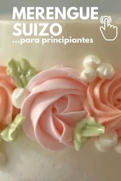 Cake Frosting Recipe, Frosting Recipes, Creative Cake Decorating, Creative Cakes, Merengue Cake, Cake Cookies, Cupcake Cakes, Sweet Recipes, Snack Recipes