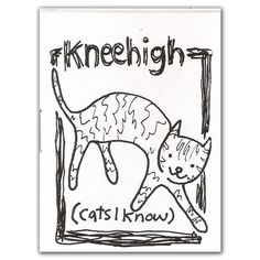 Kneehigh Cats I Know Mini Comic Zine by sugarcookie on Etsy, $1.00
