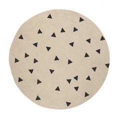 Round Carpet Triangle Vloerkleed