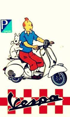 Motorcycle Tips & Ideas Vespa Px 150, Vespa Pk 50 Xl, Piaggio Vespa, Vespa Scooters, Vintage Vespa, Vintage Ads, Motorcycle Tips, Motorcycle Posters, Vespa Tattoo
