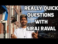 Really Quick Questions with Siraj Raval - YouTube