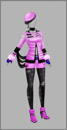 Outfit design - 94 - closed by LotusLumino on DeviantArt