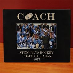 not the gift for our coach, but this gives me an idea!