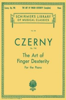 Czerny  Art of Finger Dexterity for the Piano, Op. 740 (Complete) (Schirmer's Library Of Musical Classics, Vol. 154), 978-0793553099, Carl Czerny, G. Schirmer, Inc.