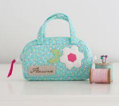 @ the mini pamela pouch @ Pretty by Hand
