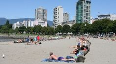 English Bay Beach in Vancouver