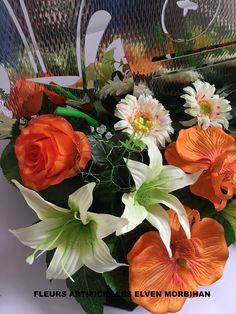 couleurs d ailleurs vous présente sa dernière création décorative de fleurs  artificielles et plaque en 84106323a9f