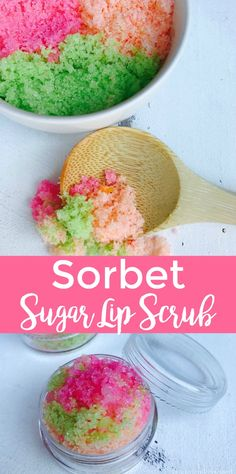 Sorbet Sugar Lip Scr