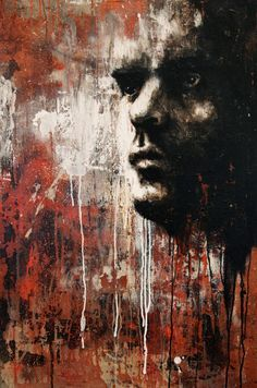Joshua Miels is a contemporary portrait artist who looks to capture the vulnerability of people and the emotions. Contemporary Portrait Artists, Abstract Art Images, Expressive Art, Arte Pop, Painting Techniques, Figurative Art, New Art, Modern Art, Street Art