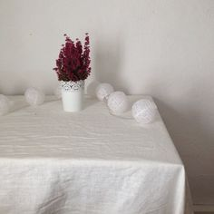 Buy House By John Lewis Oval Tablecloth, L240 X W140cm, Lily Online At  Johnlewis.com | Christmas | Pinterest | John Lewis