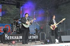 On stage in Berlin (August 2011)