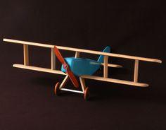Wooden Plane. Design