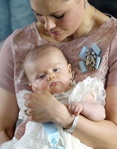 The royal babies of Europe - Princess Estelle of Sweden – Born 23 February 2012