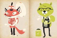 Fox n' Squirrel