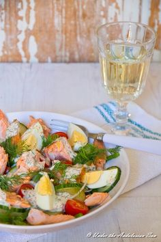 New potato, smoked fish, dill and roe - that's Nordic summer on a plate right there!