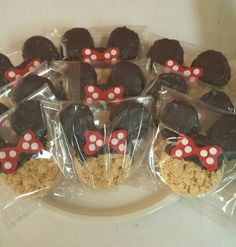 Minnie Mouse Dessert Table Package by CupcakeDistrict on Etsy