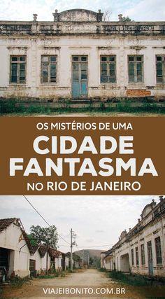 Cidade fantasma na divisa entre Minas Gerais e Rio de Janeiro.