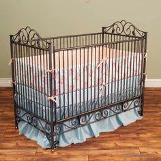 Love iron cribs!