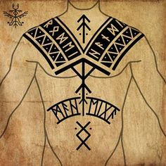 Viking Rune Tattoo, Norse Tattoo, Celtic Tattoos, Viking Tattoos, Thai Tattoo, Maori Tattoos, Time Tattoos, Sleeve Tattoos, Body Art Tattoos
