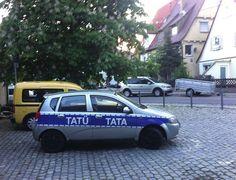 Dieser Polizeiwagen | 24 Dinge, die Du so nur in Deutschland erlebst