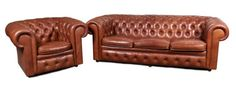 Sofa i fotel Chesterfield