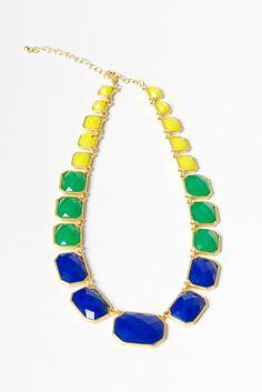 Pop Emerald Necklace