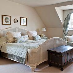 Cream French country bedroom   housetohome.co.uk