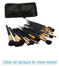 32 Pcs Elegant Professional Beauty Cosmetic Makeup Brush Set Kit with Free Case #Pcs #Elegant #Professional #Beauty #Cosmetic #Makeup #Brush #Set #Kit #Free #Case