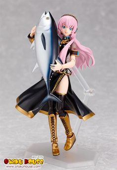Vocaloid Good Smile Vocaloid: Megurine Luka Figma Action Figure Imported from Japan Smooth yet poseable joints Includes three expressions - Imported from Japan Smooth yet poseable joints Includes three expressions Vocaloid, Anime Figures, Action Figures, Hologram Projection, Streaming Anime, Good Smile, Anime Style, Figurative Art, Fairy Tales