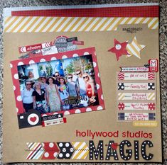Project Ideas for Simple Stories - Say Cheese Collection - 12 x 12 Cardstock Stickers - Fundamentals Love Scrapbook, Disney Scrapbook Pages, Mini Scrapbook Albums, Scrapbook Sketches, Scrapbook Page Layouts, Scrapbook Paper Crafts, Scrapbook Cards, Scrapbooking Ideas, Paper Crafting