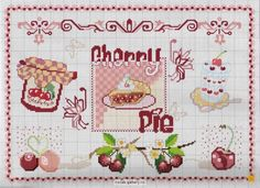 cross stitch - cherry pictures