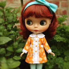 Lovely Genevieve #blythe - @scrapbag- #webstagram
