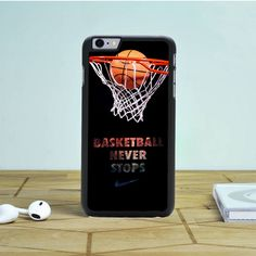 Nike Basketball Never Stop iPhone 6S Plus Case Dewantary