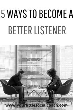 5 ways to become a better listener - Your Little Social Coach What Is Emotional Intelligence, Good Listener, Communication Skills, Social Skills, Healthy Relationships, 5 Ways, Self Improvement, Personal Development, Improve Yourself