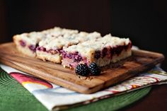 Blackberry Cobbler Bars