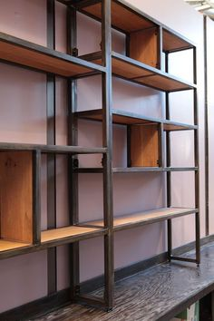 shelving for Neeley Studies by Five String Furniture