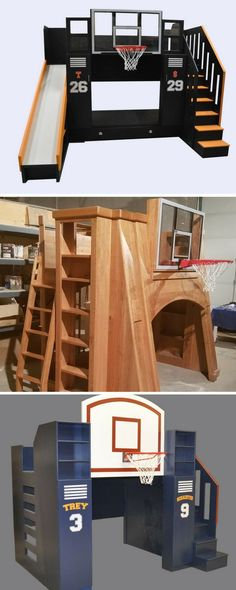We've got the perfect bed for the basketball lover in your life. Bunk beds, loft beds, and trundles make sure there is room for everyone, and the awesome storage options mean that once the game is done, the room can be clean again. Click to see our full range of sports themed beds.
