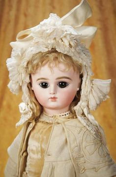 French Bisque Bebe with Dramat... Auctions Online | Proxibid