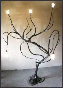 ART-&-CRAFT--63 Metal Working, Arts And Crafts, Table Lamp, Iron, Home Decor, Table Lamps, Decoration Home, Metalworking, Room Decor