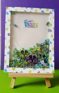 V R Enchanted: Birthday Wishes - Gift shaker card.