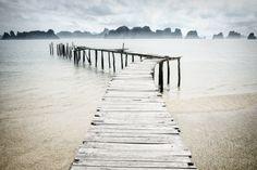 Nowhere Pier by Gerald Gay on 500px  #Bai Tu Long Bay #Halong #Vietnam