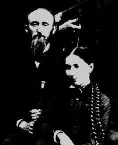 1882: ONU Pres. Lehr and Ms. Gertrude Fryett, art professor | Ohio Northern University