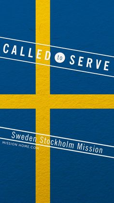 iPhone 5/4 Wallpaper. Called to Serve Sweden Stockholm Mission. Check MissionHome.com for more info about this mission. #Mission #SwedenStockholm #cellphone