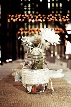 49 Original Barn Wedding Centerpieces   Weddingomania