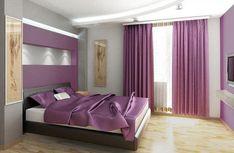 Purple Bedroom Interior Design Ideas