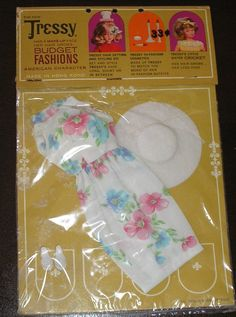 Vintage American Character Tressy Doll Outfit Summer Time 10900 in Package | eBay